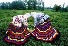 پاورپوینت لباس های محلی مناطق مختلف  کشور ایران