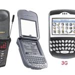 پاور پوینت نسل های تلفن های همراه