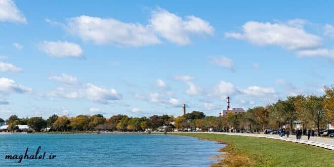تحقیق پارک ساحلی